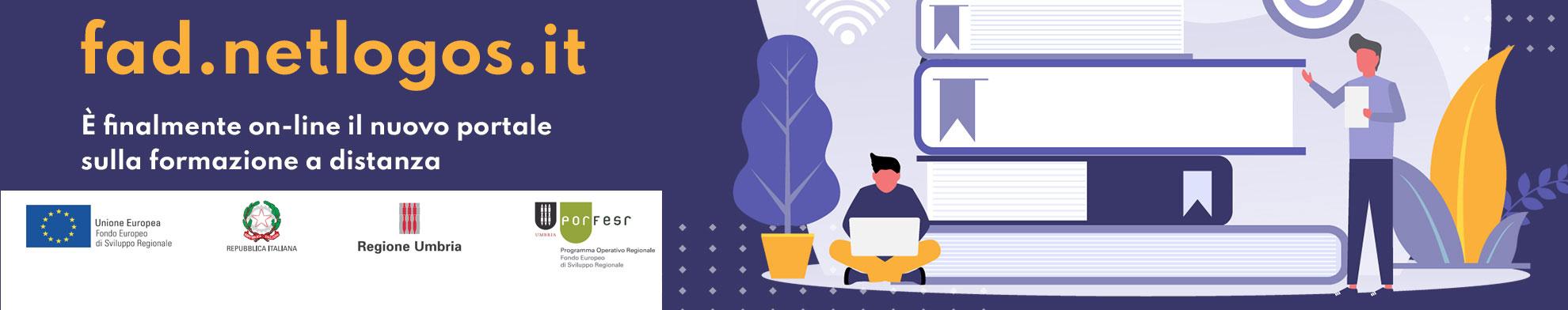 FAD.NETLOGOS.IT - Il nuovo portale sulla formazione a distanza